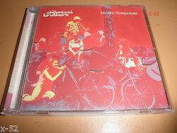 CHEMICAL BROTHERS single MUSIC RESPONSE 7 track CD enjoyed OUT OF CONTROL LIVE