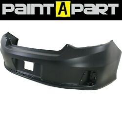 For 2013-2014 Honda Accord Coupe Rear Bumper Cover Painted Premium