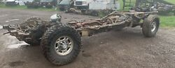 2007 Crew Cab Short Bed 4wd Rolling Chassis Frame Chevy Gmc 2500hd 3.73 11.5