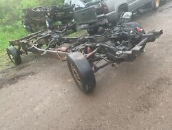 2005 Ext Cab Short Bed 2wd Rolling Chassis Frame Chevy Gmc 2500hd 3.73 11.5