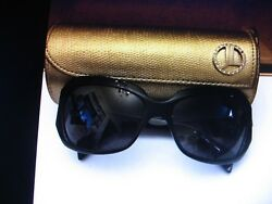 JUDITH LEIBER DESIGNER SUNGLASSES WITH CASE