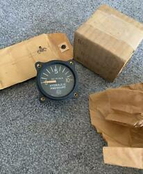 Us Gauge Co Ny Hydraulic Pressure Ad7149 Aw 17 Ar Airplane Instrument Panel Nos