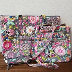 Actual Bags Vera Bradley Disney Mickey And Friends Tote Hipster Crossbody Purse