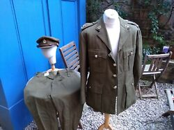 Named Royal Army Medical Corps Colonel's Service Dress Uniform And Cap