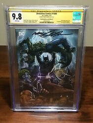 Detective Comics 1000 Cgc 9.8 Ss Signed By Neal Adams | Batman Variant Cover B