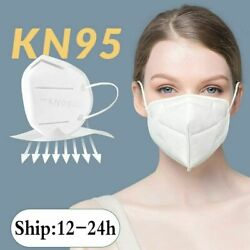 50-500pcs Kn95 Face Mask Mouth Cover Disposable Respirator K N95 5-layer