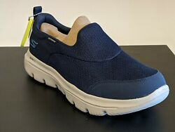 Skechers Evolution Ultra Go Walk Ultra-Foreseen Men's 9 Navy New Sneakers