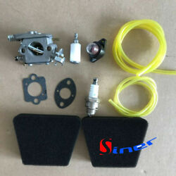 Carburetor And Air Filter Fuel Line Tune Up Kit For Craftsman 18and039and039 42cc Chainsaw