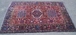 Fine Old Karaja Hand Made Middle Eastern Rug Strong Design And Colour C.1940and039s