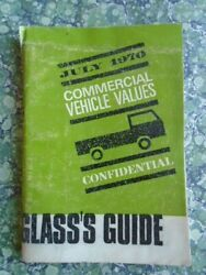 Glassand039s Guide To Used Commercial Vehicle Values No 166 1970 July 8558f