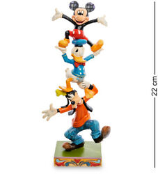 Enesco Disney Traditions Jim Shore 4055412 Goofy, Mickey Mouse And Donald Duck