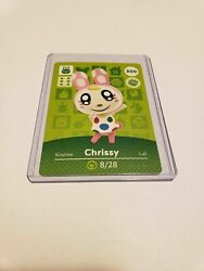 Authentic Chrissy 300 Animal Crossing Amiibo Authentic Us Card Series 3 Mint