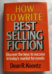 How To Write Best Selling Fiction By Dean Koontz - 1st Hb. Edn. - Highllighted