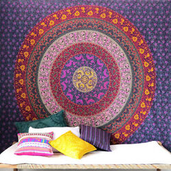 Mandala Bohemian Tapestries Indian Dorm Decor Psychedelic Tapestry Wall Hanging
