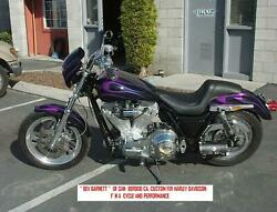 Harley Fxr Pro.street Frame And Swingarm Only.. With Mso