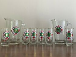 1983 Philadelphia Phillies Set Of Drinking Glasses And Pitchers