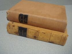 Lot Of 2 - Vintage Laws Of Kansas Books 1901 And 1911