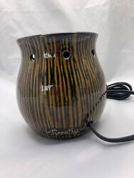 SCENTSY ELECTRIC WAX WARMER quot; ZINGANA quot; REPLACEMENT BASE ONLY