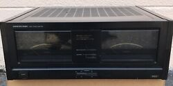 Onkyo M-504 Stereo Power Amplifier - Fully Serviced And Tested Great Condition