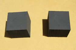 1961-1965 Lincoln Convertible Flipper Panel Rubber Bumper Stop- Set Of Two