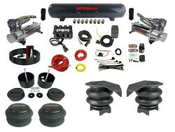Complete Air Suspension Kit Manifold Valve Bags 480 Chr For 1999-06 Chevy 1500