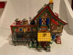 Department 56 North Pole Lego Building Creation Station 56.56735 Inv 6