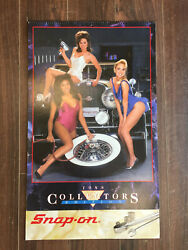1988 Snap On Tools Collectors Edition Pin Up Calendar
