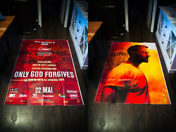 Only God Forgives 5x8 Ft Double French Grande Movie Poster Original 2013