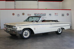 1963 Ford Galaxie  1963 Ford Galaxie 500 XL 98418 Miles White Convertible