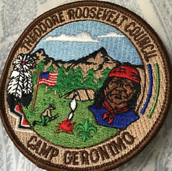 Patch Theodore Roosevelt Council Camp Geronimo