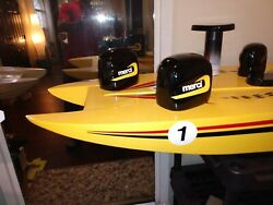 Rc Boat Outboard 11cc Motor Cowling