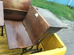 Vintage Antique School Desks Complete With Ink Well Price Listed Is For 1 Desk