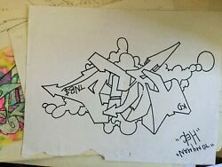 Tkid Drawing 12x +14 Inches 35x30 Cm