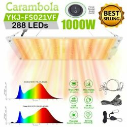 Full Spectrum 1000w Led Grow Light 2and039x2and039 Dual Switch For Indoor Plant Veg Flower