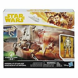 Star Wars Solo Imperial At-dt Walker W/mimban Stormtrooper Class B Vehicle
