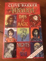 Abarat Days Of Magic Nights Of War By Clive Barker Arc Advance Uncorrected Proof