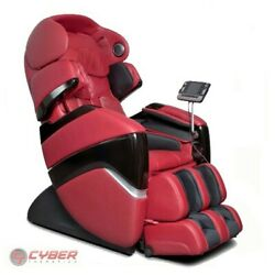 Osaki OS-PRO CYBER Red 2 Stage Squeeze & Twist Zero Gravity 3D Massage Chair