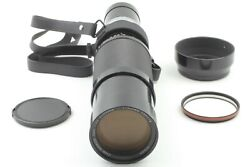 【rare As-is】nikon Zoom Nikkor 200-600mm F/9.5 Lens W/ Hood From Japan 584a