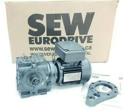 New Sew Eurodrive St47tdt71d4 0.5hp 1700rpm Motor W/ Str7at Gear Reducer