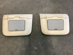 Bmw E24 6 Series Rear Speaker Pods 635csi M6 Euro M635csi Lotosweiss Excellent