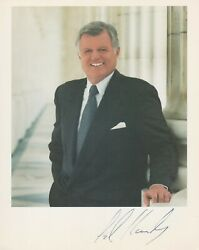 Ted Kennedy Autograph, Original Hand Signed Photo
