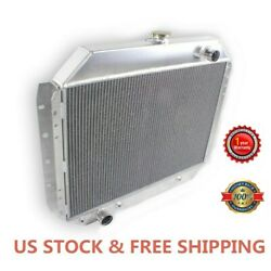 3 Row/core Radiator Fit For 66-79 Ford Pickup F-100 F-150 F-250 F-350/bronco