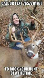 Trophy Deer Hunts In Ohio-high Fence No Kill No Pay. Lodging And Meals Included