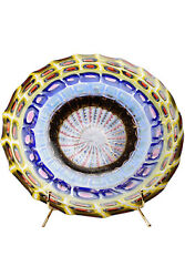 Murano Glass Centerpieces Mosaic Signed A.lipstick And F. Youth