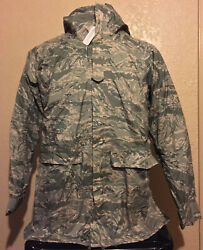 New Orc Industries Size X-small Tiger Stripe Improved Rainsuit Parka With Liner