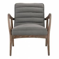 Moeand039s Home Anderson Upholstered Arm Chair In Gray