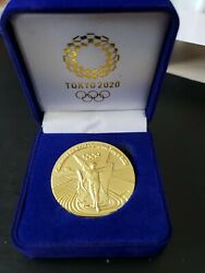 2020 Tokyo Japan Olympic Gold Commemorative Medallion Medal Coin Rare