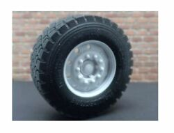 1/25 Scale  22.5  10 Hole Wheel W/float Tires 1 Pair