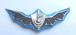 Israel Army Navy Seals Shayetet 13 Badge First Type Idf Numbered 456 1960's