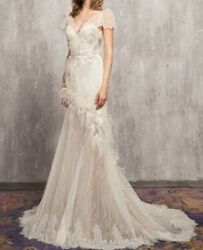 AnnyLin Romantic Designer Wedding Gown NWT and Protective Bag Retails $2450 $899.00